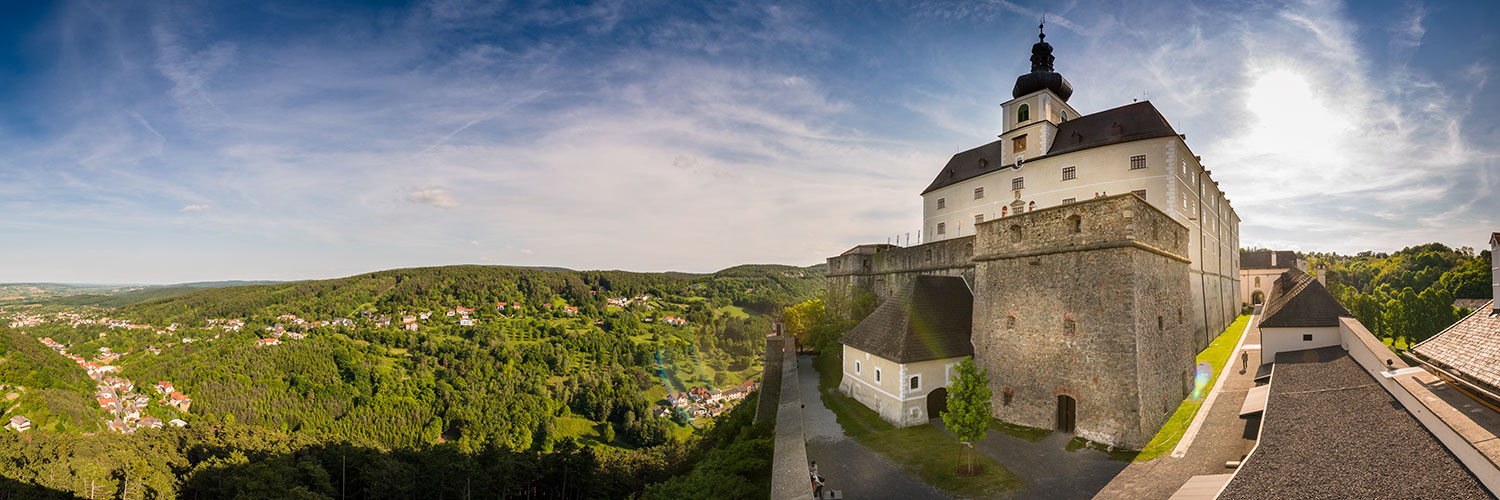 Burg Forchtenstein Panorama