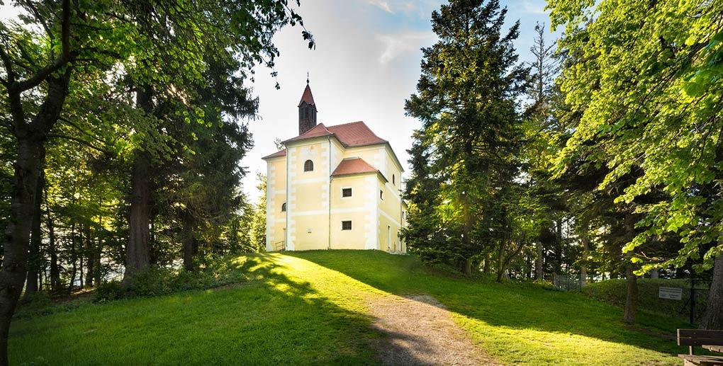 Foto der Rosalienkapelle in Forchtenstein