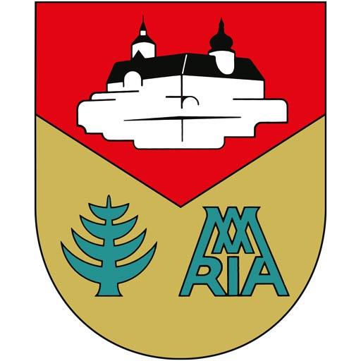 Das Wappen der Gemeinde Forchtenstein