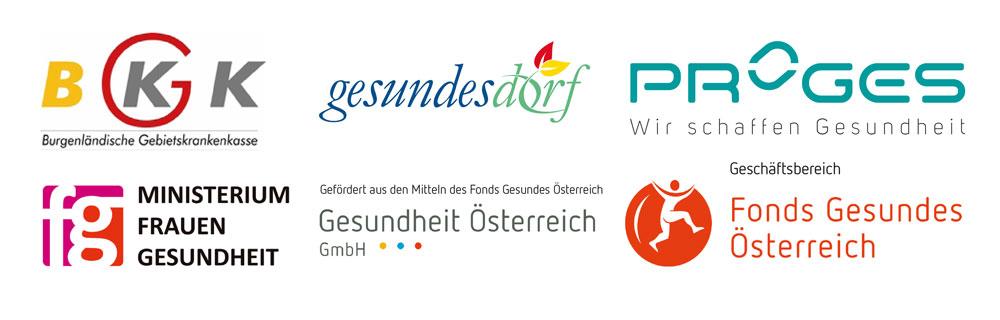 Logobalken für Gesundes-Dorf-Forchtenstein-2016