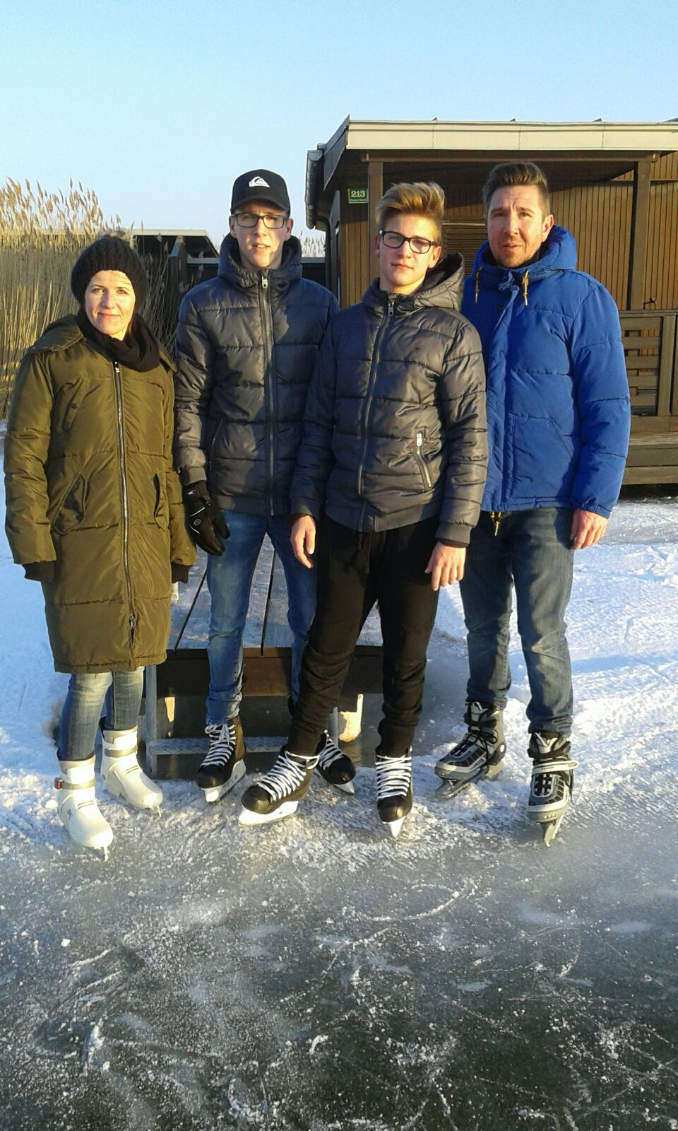 Ein Foto der Familie Strodl