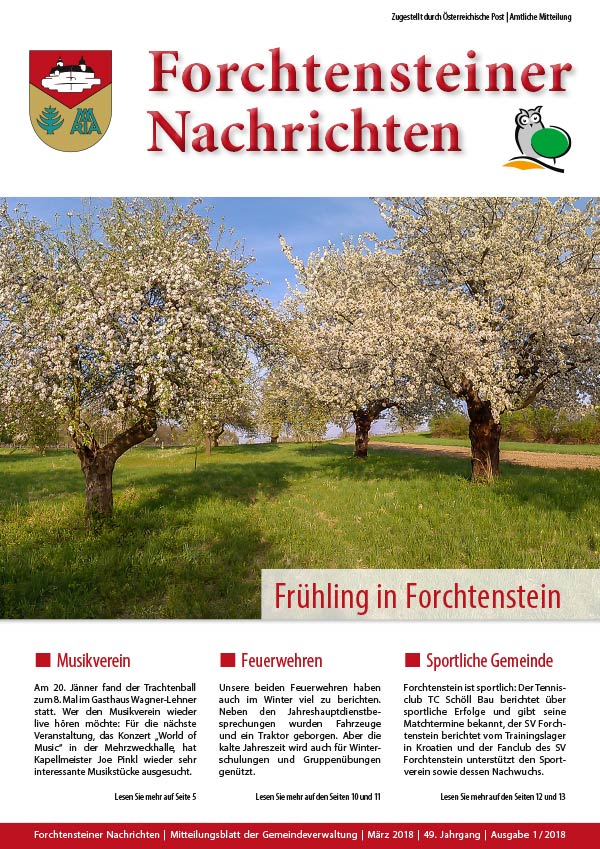 Gemeindezeitung-Forchtenstein-Bild: Fruehjahr-2018-Web-Cover