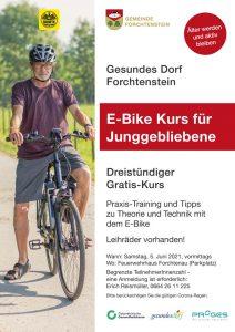 E-Bike Kusr Gesundes Dorf Forchtenstein Juni 2021 (WEb)